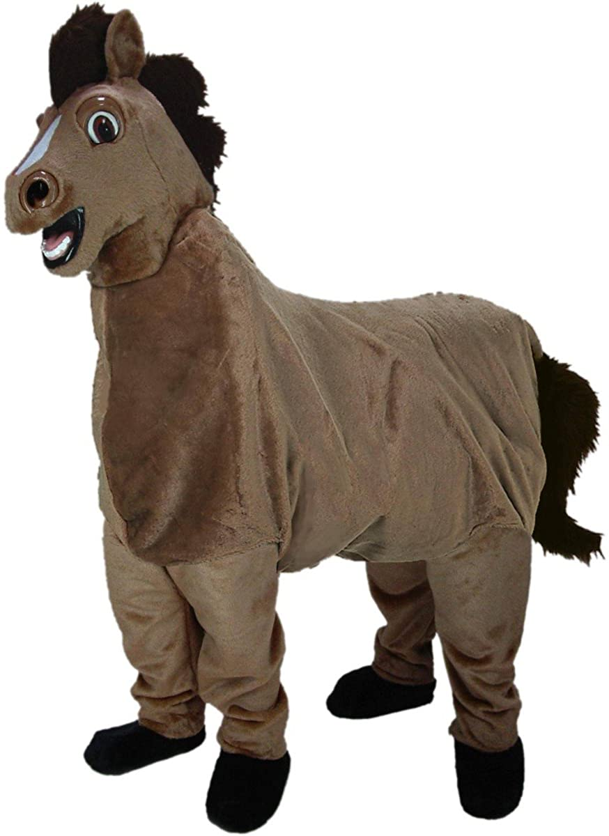 two-man donkey costume